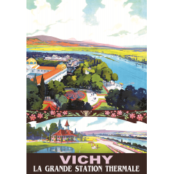 Affiche 50x70 - Vichy Grande Station Thermale