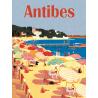 Affiche 50x70 - La plage d'Antibes