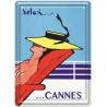 Plaque métal - Relax à Cannes