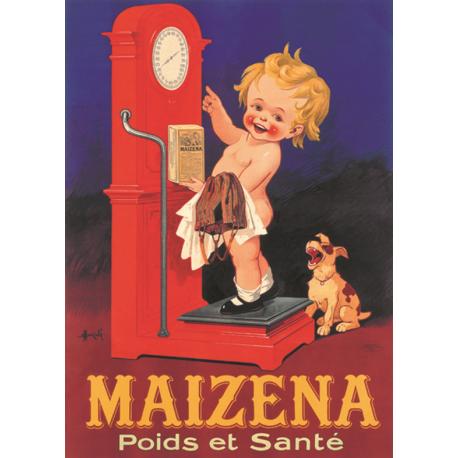 Affiche - La balance (fin de série) - Maizena