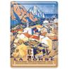 Plaque métal 15x21 - Village d'Évisa