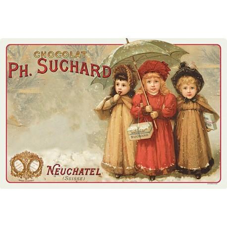 Set - Trois enfants - Chocolat Suchard
