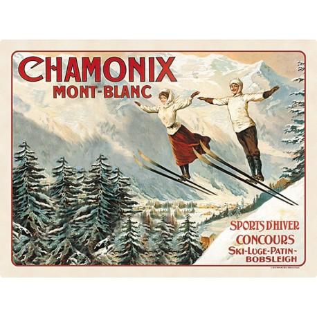 Set - Les deux sauteurs - Chamonix - PLM