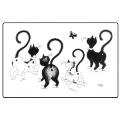 Set - Papillon - Chats Dubout