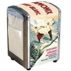 Distributeur de serviettes - Les deux sauteurs - Chamonix