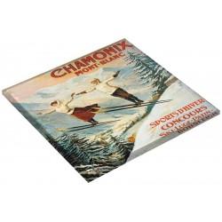 Dessous de plat - Les deux sauteurs - Chamonix