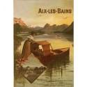 Affiche - Aix-les-Bains - Le Lac du Bourget (rupture définitive)