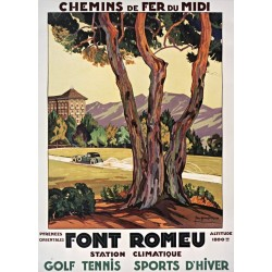 Affiche - Station climatique de Font-Romeu (fin de série)