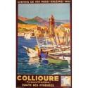 Affiche - Port de Collioure (fin de série)