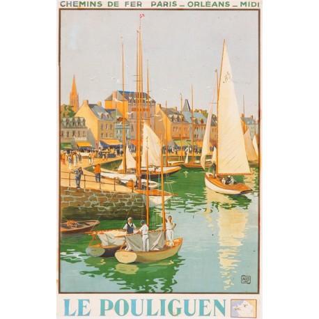 Affiche - Le Pouliguen (fin de série) - Compagnie PO-Midi