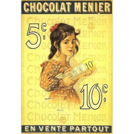 Affiche - 10 centimes (fin de série) - Chocolat Menier