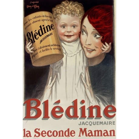 Affiche - La Seconde Maman (fin de série) - Blédine