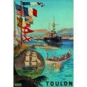 Affiche - Toulon - Port de guerre (rupture définitive)