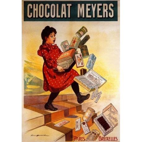 Affiche - Chute (fin de série) - Chocolat Meyers