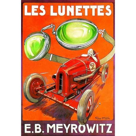 Affiche - Rallye (fin de série) - Lunettes Meyrowitz
