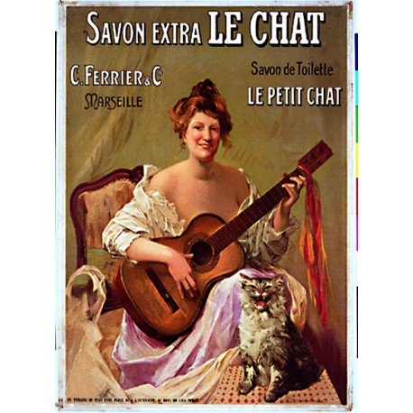 Affiche - Le petit Chat (fin de série) - Savon Le Chat