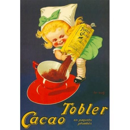 Affiche - Fillette (fin de série) - Cacao Tobler