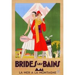 Affiche - Brides les Bains La montagne à la mer (rupture définitive)