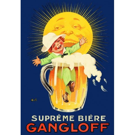 Affiche - Chope (fin de série) - Gangloff