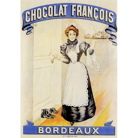 Affiche - Servante (fin de série) - Chocolat François