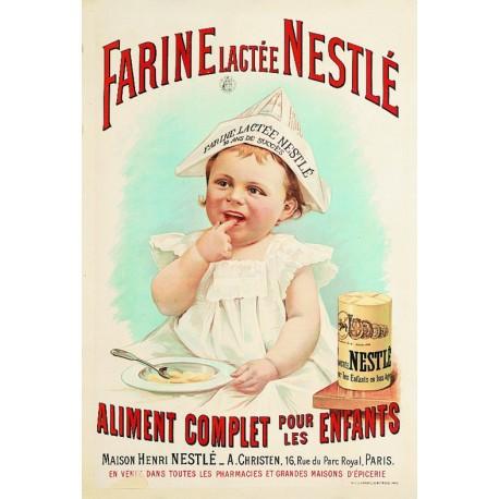 Affiche - Farine lactée (fin de série) - Nestlé