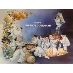 Affiche - Pierrots (fin de série) - Bonbons Pierrot Gourmand