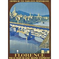 Affiche - Florence - Ponte Vecchio (fin de série)