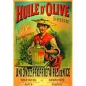 Affiche - Huile d'olive chapeau (rupture définitive)
