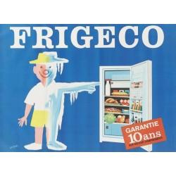 Affiche - Réfrigérateur (fin de série) - Frigeco
