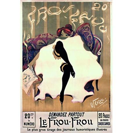 Affiche - Danseuse de cabaret (fin de série) - Frou-Frou