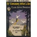 Affiche - Le Lioran - Concours de ski (rupture définitive)