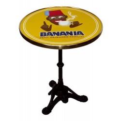Table de bistrot émaillée - Tirailleur moderne - Banania