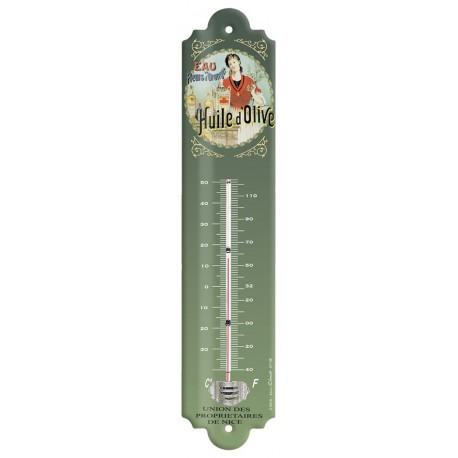 Thermomètre - Huile d'olive tête nue - Union des propriétaires de Nice