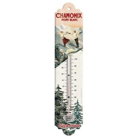 Thermomètre - Les deux sauteurs - Chamonix - PLM