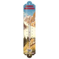 Thermomètre - La Mer de Glace - Chamonix