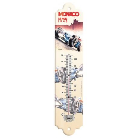 Thermomètre - Grand Prix de Monaco de 1948 - Ville de Monaco