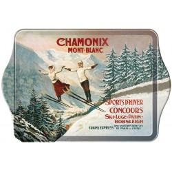 Vide-poches - Les deux sauteurs - Chamonix