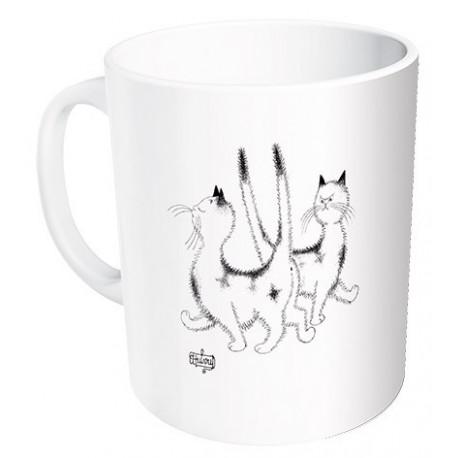 Mug - La pimbêche - Chats Dubout