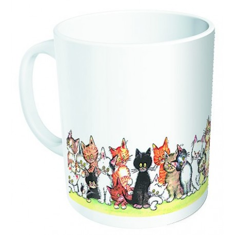 Mug - Chats en couleur - Chats Dubout